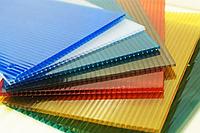 Поликарбонат сотовый OSCAR 4 мм цветной в ассортименте