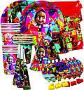 Набор для детского Дня Рождения  с героями мультфильмов в ассортименте , фото 6