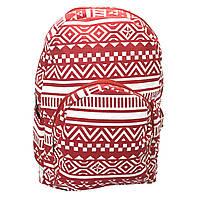 Рюкзак тканевый Retro Красный.