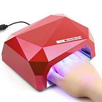 Лампа-сушка для маникюра / УФ-лампа 36 Вт
