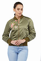 Куртка бомбер женская КВ-11., фото 1