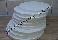 Подложка под торт пенопластовая высота 2см, диаметр 13см