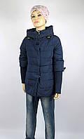 Куртка весна-осень, код 8623, размеры 140-164 (10 лет и старще), цвет синий