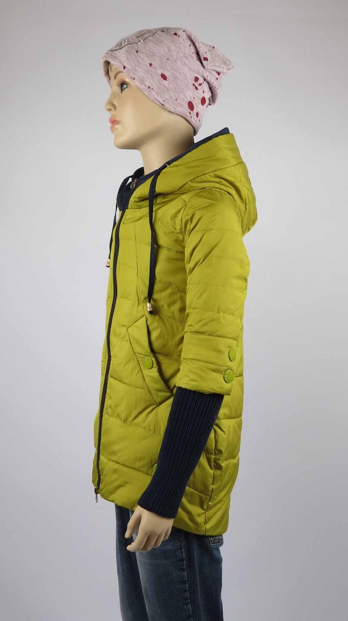 Куртка весна-осень, код 8624, размеры 140-164 (10 лет и старше) , цвет синий, фото 2