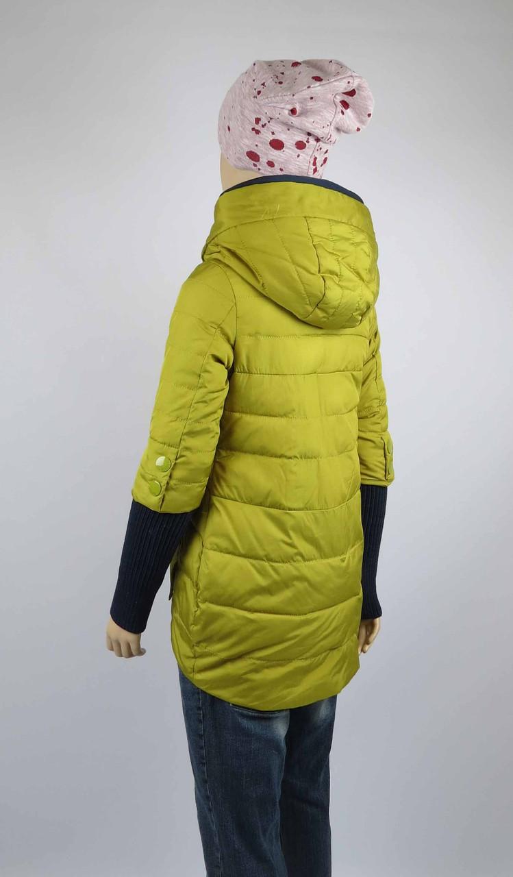 Куртка весна-осень, код 8624, размеры 140-164 (10 лет и старше) , цвет синий, фото 3
