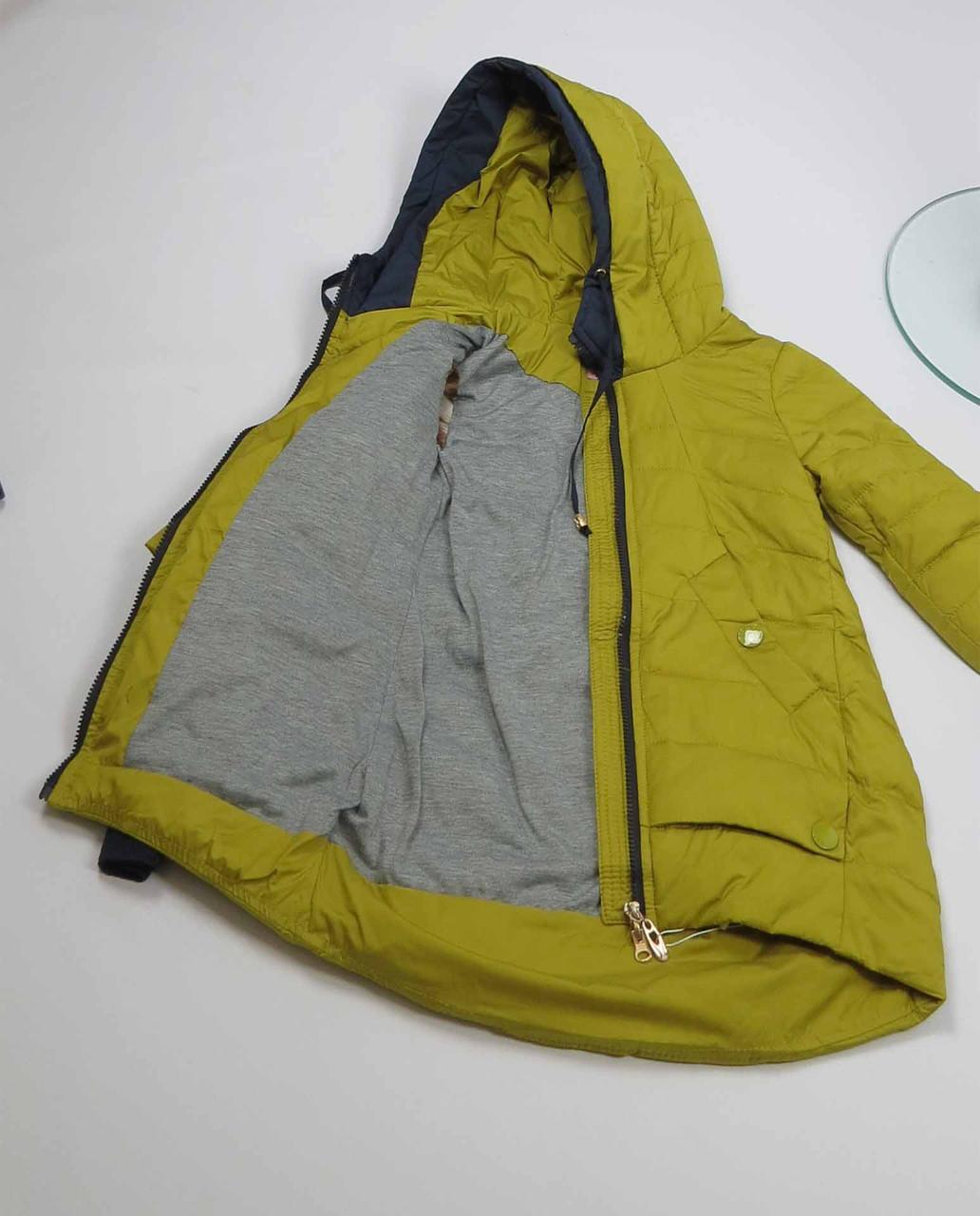 Куртка весна-осень, код 8624, размеры 140-164 (10 лет и старше) , цвет синий, фото 4