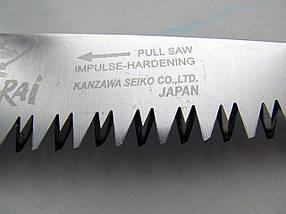 Пила Samurai (Японія) складная з прямим полотном (L=180/210/240 мм /4 мм), фото 3