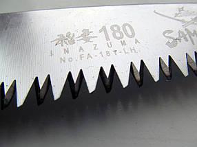 Пила Samurai (Японія) складная з прямим полотном (L=180/210/240 мм /4 мм), фото 2