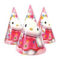 """Ковпачки святкові """"Kitty"""". Розмір: 16 см"""