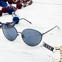 Женские брендовые очки копия Диор круглые черные