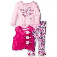 Детский комплект для девочки розовая бабочка 86