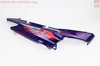 Пластик боковой задний  правый фиолетовый на мопед Active