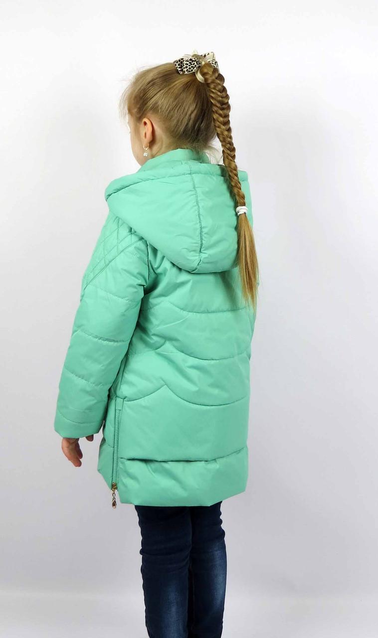 Куртка весна-осень, код КТ 17-16, размеры 122-146 (6-12 лет), цвет бирюза, фото 2