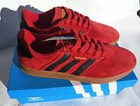 Мужские кроссовки Adidas 350 Spezial красного цвета. Крутая редкая модель