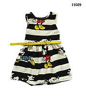Летнее платье Minnie Mouse для девочки. 100 см, фото 1