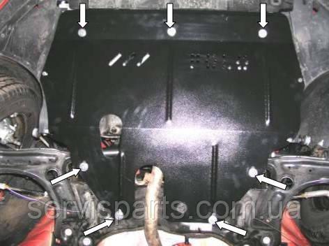 Защита двигателя Skoda Roomster (Шкода Румстер)