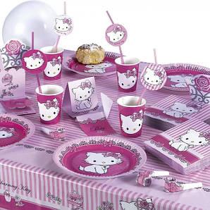 Тематические наборы посуды на детские праздники