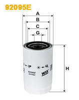 Фильтр масляный WIX 92095E Ивеко ЕвроКарго 2 Евро 3/4/5 (Iveco EuroCargo 2) 504033399