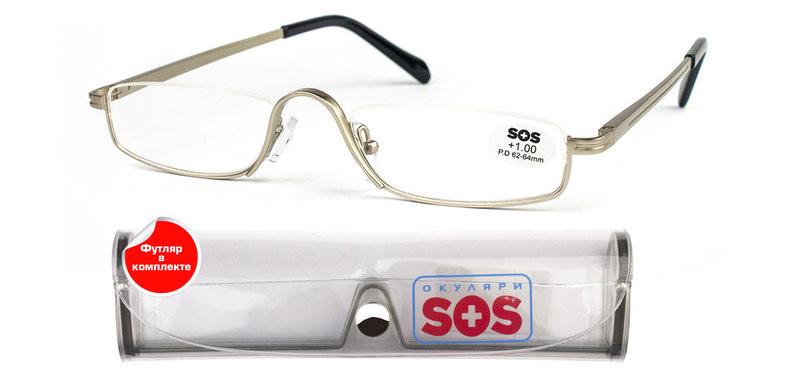 Очки для чтения SOS silver М