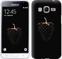 "Чехол на Samsung Galaxy J2 (2016) J210 Черная клубника ""3585u-270"""