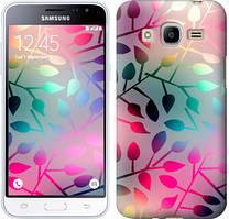 """Чехол на Samsung Galaxy J2 (2016) J210 Листья """"2235u-270"""""""
