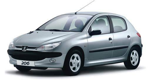 Автомобильные стекла для PEUGEOT 206