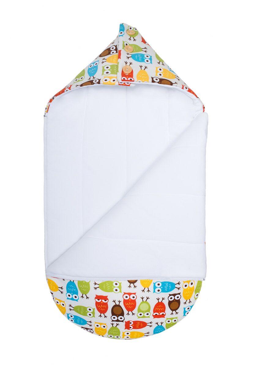 Зимний конверт-кокон для младенцев «Осторожно, совы!», GoforKid
