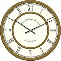 Часы настенные из стекла - класика (немецкий механизм)