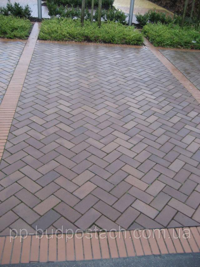 За присадибною доріжках: тротуарний клінкер