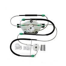 Ремкомплект стеклоподъемника + корпус ролика VolkswagenPassat B5 пер. лев. дв.
