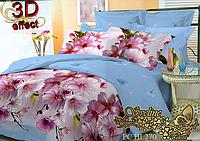 Комплект постельного белья 3D поликоттон ТМ Sveline Tekstil (Украина) семейный PC270