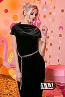 Платье в пол / бархат / Украина, фото 1