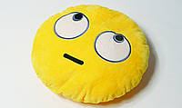 Подушка Смайлик с эмоциями ЭМОДЗИ глаза вверх ( Emoji)
