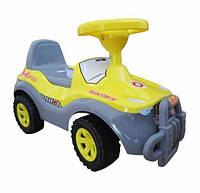 Машинка для катания ДЖИПИК серый ОРИОН 105