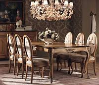 Раздвижной классический стол коллекция GRANGUARDIA  фабрика Francesco Pasi (Италия)