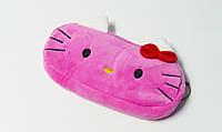 Мягкий пенал сумочка ярко-розовая Kitty