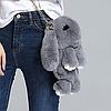 Сумка - рюкзак кролик (заяц) меховой