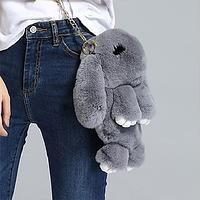 Сумка - рюкзак кролик (заяц) меховой, фото 1