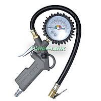 Пистолет для подкачки колес с манометром 63мм пневматический