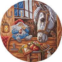 """Набор для вышивки крестом и бисером """"Panna"""" Домовой-покровитель домашних животных  СО-1128"""