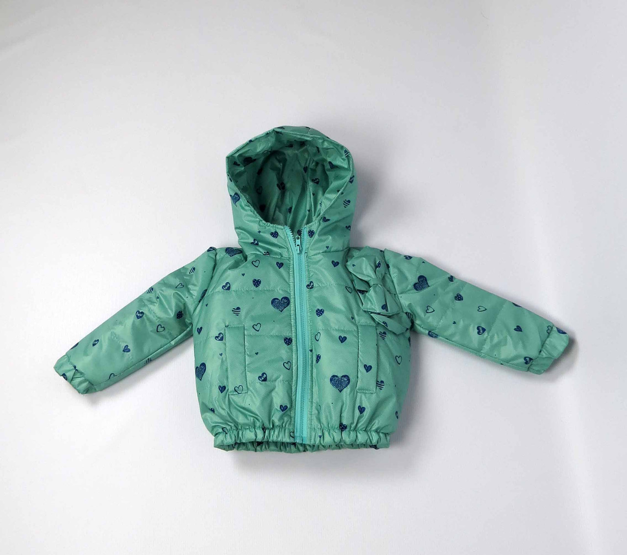 Куртка весна осень беби  код 106 размер 86-104 (1-4 лет) цвет бирюза, фото 1