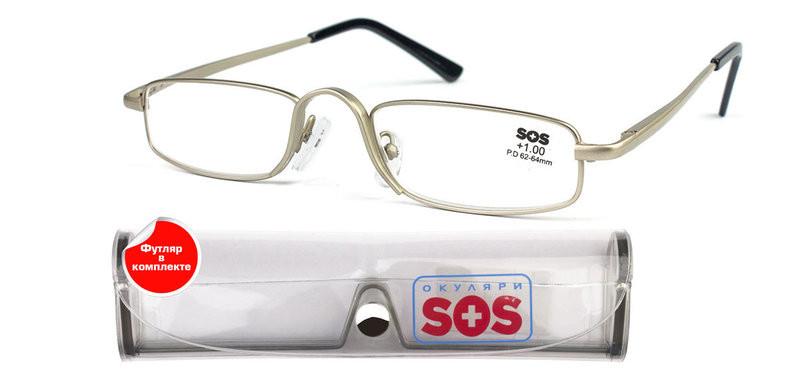 5dde3ae79577 Очки для зрения SOS silver универсал.
