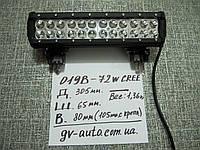 Доп. LED фара 019-72Вт - для квадроциклов.