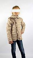 Куртка весна-осень код 572 размер 116-134 (5-9 лет) цвет бежевый