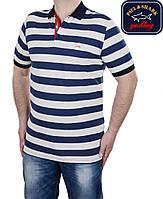 Футболка мужская Paul Shark в полоску.Новая коллекция!