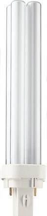 Лампа энергосберегающая Philips PL-С 18W/830/2P G24-d2