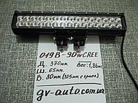 Мощная  светодиодная балка 37 см.  LED GV 019-90W  - для спец.техники. , фото 1