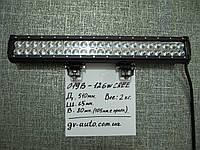 Доп. светодиодная фара LED GV 019-126W   - на крышу автомобиля.