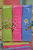 Набор махровых банных полотенец
