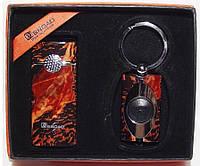 Подарочный набор BROAD: зажигалка + фонарик